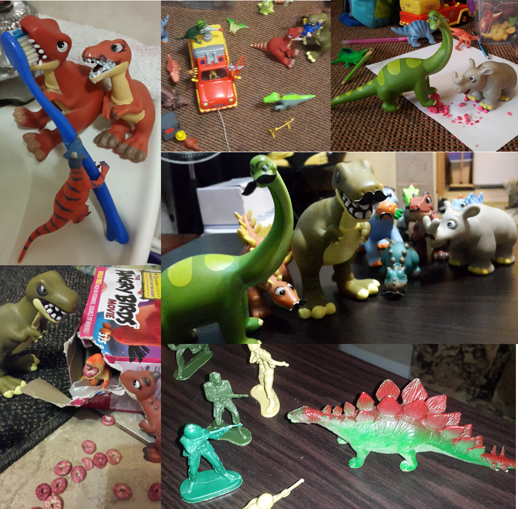 Dinovember and magical childhood memories